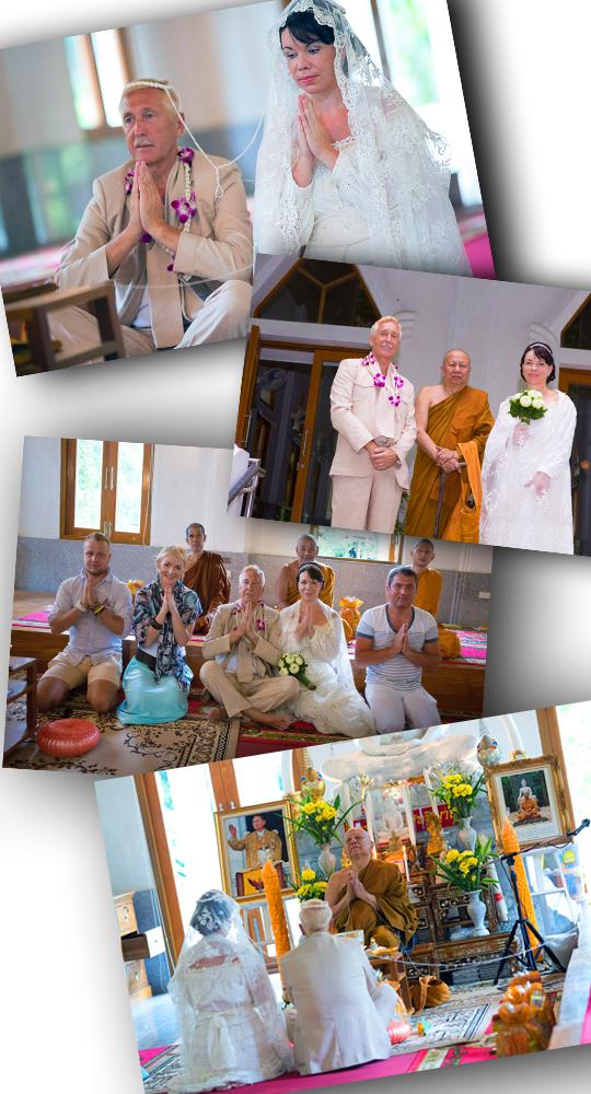 с монахами