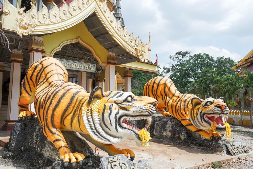 Храм Тигра Краби Таиланд